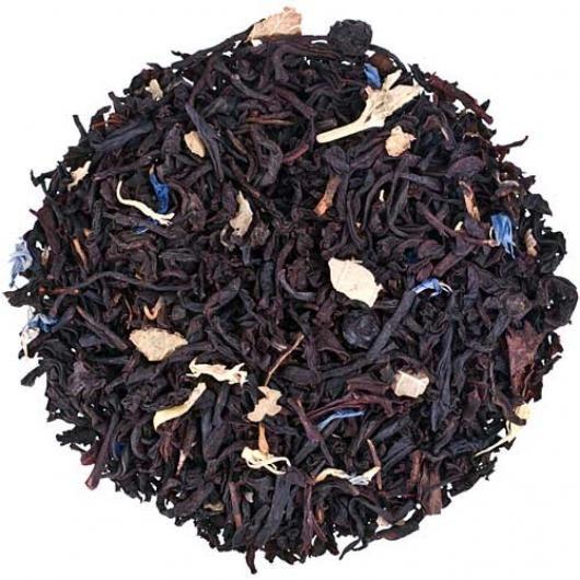Черный чай Черничный с ароматом йогурта (вес.)