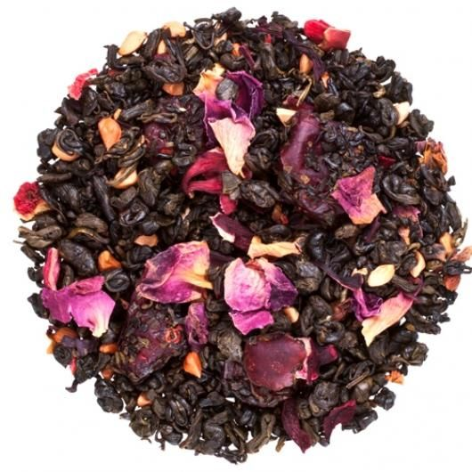 Зеленый чай Гранатовый Цветок (вес.)