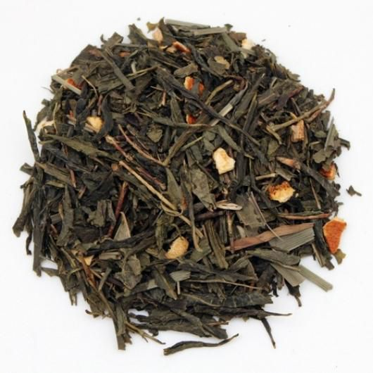 Зеленый чай с имбирем (вес.)