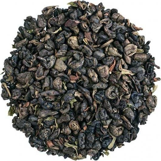 Зеленый чай с мятой (вес.)