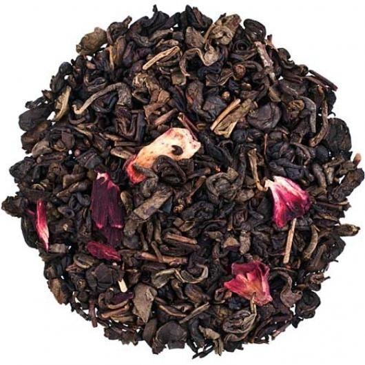 Зеленый чай Земляничный с ароматом сливок (вес.)