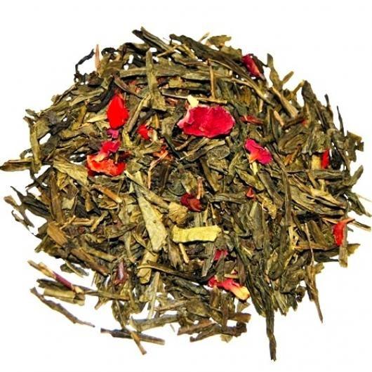 Зеленый чай Чабрец-Клубника (вес.)
