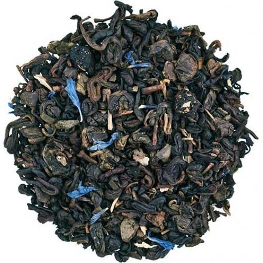 Зеленый чай Черничный с ароматом йогурта (вес.)