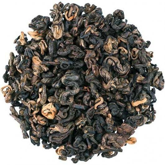 Черный чай Золотая Улитка (вес.)