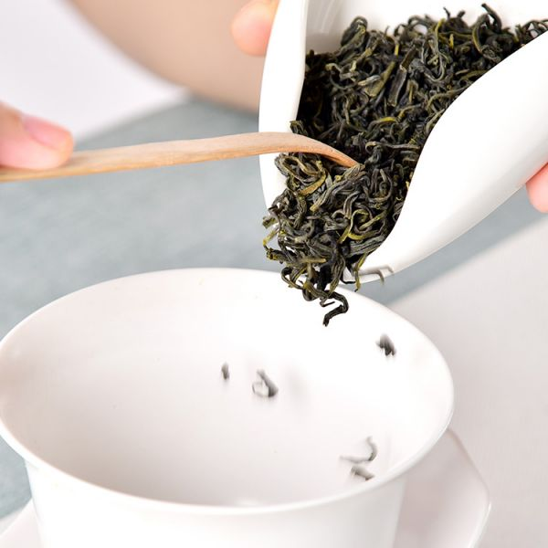 Зелений чай Емей Шань Чжу Е Цин (500г.)