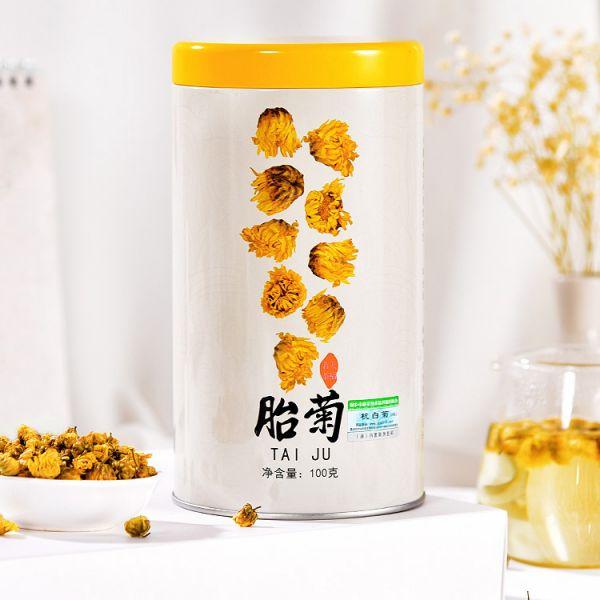 Чай из хризантем Цзюй Хуа, 100 гр. (банка)
