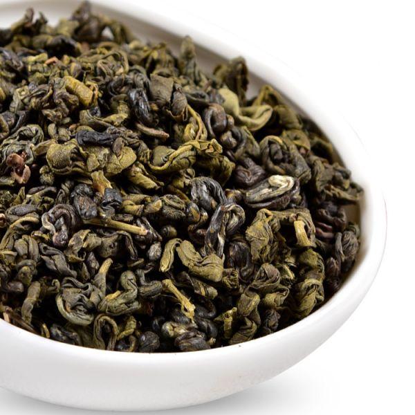 Зеленый чай с жасмином Хуа Чжень Ло (Жасминовая золотая улитка)