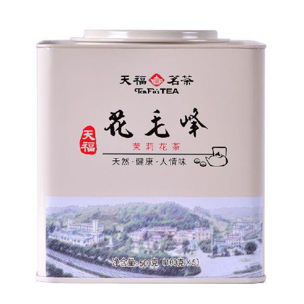 Зеленый чай с жасмином Хуа Маофэн, 500 гр. (банка)